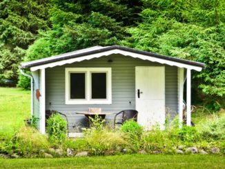 Gartenhaus mit stabilem Fundament